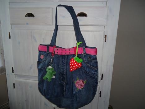 Jeanstasche blueberry